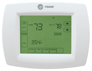 Trane TCONT 4-31/50 in. 1 Heat/1 Cool 7-Day Programmable Thermostat TTCONT800AS11AA