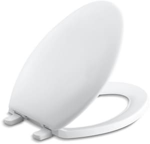 Kohler Bancroft® Elongated Toilet Seat with Plastic Hinge K4659