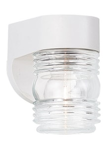 Seagull Lighting 4-1/2 in. 60 W 1-Light Medium Lantern S8750