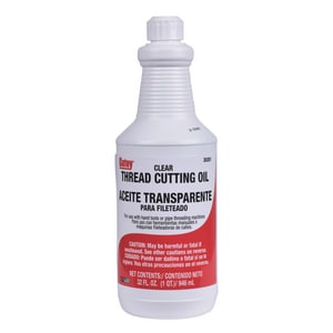 Oatey Clear Cutting Oil Hand Thread O30201