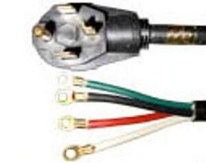 JMF 4 ft. 4-Way Range Cord J49901047014