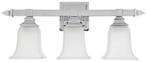 Capital Lighting Fixture Vanity 10 in. 100 W 3-Light Medium Bracket C1063142