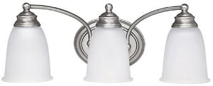 Capital Lighting Fixture 7-1/2 x 8 in. 100 W 3-Light Medium Bracket C1088132