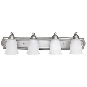 Capital Lighting Fixture 6-3/4 in. 100 W 4-Light Medium Bracket in Matte Nickel C1014MN132