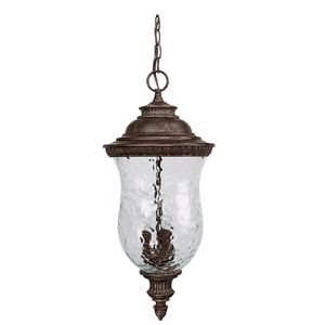 Capital Lighting Fixture Ashford 3-Lamp Outdoor Hanging Lantern C9786