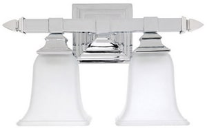 Capital Lighting Fixture 10 x 6-1/2 in. 100 W 2-Light Medium Bracket C1062142