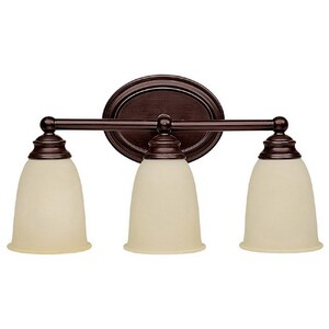 Capital Lighting Fixture 100 W 3-Light Medium Bracket in Mediterranean Bronze C1083MZ130