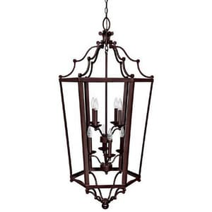 Capital Lighting Fixture 8-Bulb Foyer Light C9276