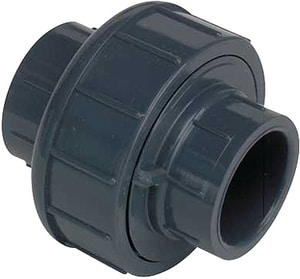 Spears Manufacturing Schedule 80 PVC Union Socket with Viton O-Ring Seal S8057