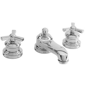 Newport Brass Miro 3-Hole Widespread Lavatory Faucet with Double Cross Handle N1600