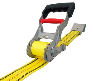 USA Products 27 ft. x 2 in. Step Release Ratchet with Flat Hook U310081