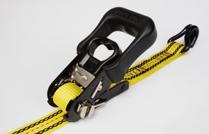 USA Products 16 ft. x 1-1/4 in. Heavy Duty Ratchet Tie with Hook U325600