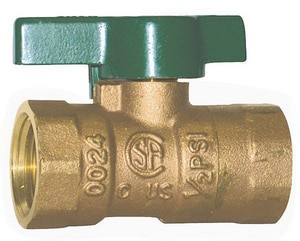 A.Y. McDonald Bronze FNPT 2-Piece Full Port Gas Ball Valve M10710