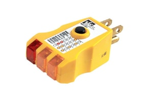 Ideal Industries Receptacle Tester in Yellow I61501