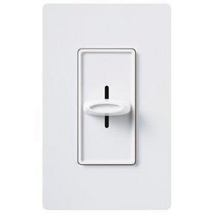 Lutron Electronics Skylark® 300 W 1-Pole Electric Low Voltage Dimmer in White LSELV300PWH