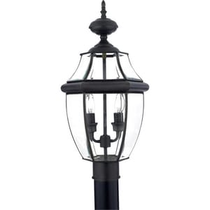 Quoizel Newbury 21 x 11 in. 2-Light Post Lantern QNY9042