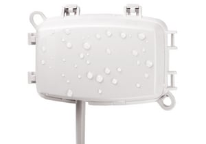 Intermatic 3/4 in. 1 gal Waterproof Cover with Lock Hasp in White IWP1100WC
