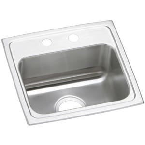 Elkay Gourmet Pacemaker® 17 x 16 in. Single Bowl Sink EPSR1716