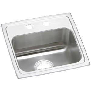 Elkay Gourmet Pacemaker® 17 x 16 in. Single Bowl Sink EPSR1716