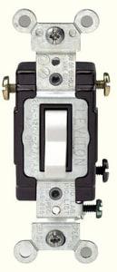 Leviton 20 Amp 120/277 V Toggle 3-Way AC Switch LCS3202