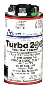 Vladmir Turbo Multi Round Capacitor GTURBO200
