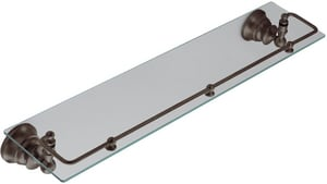 Creative Specialties International Waterhill™ 22-3/4 in. Glass Shelf with Pivoting Rail CSIYB9899