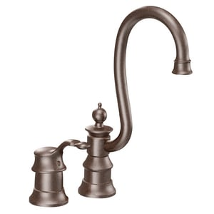 Moen Waterhill™ 2-Hole Bar Faucet with Single Lever Handle MS611