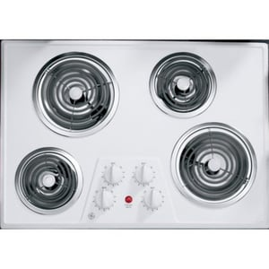 General Electric Appliances 30 in. Built-In Electric Cooktop GJP328WK
