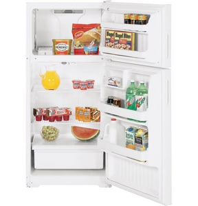 General Electric Appliances Hotpoint® 28 in. 15.6 cf Topmount Refrigerator with Right Hinge Door GHTR16ABSR