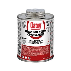 Oatey 16 oz. CPVC Heavy Duty Cement in Grey O31036