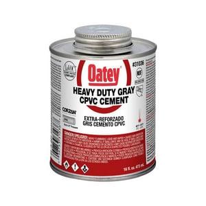 Oatey 16 oz. CPVC Heavy Duty Cement in Grey O31036