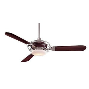 Minka Acero™ 3-Blade Ceiling Fan with Halogen Light MF601