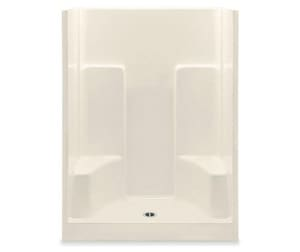 73-1/4 x 60 in. Gelcoat Shower Unit with Center Drain A1603SG