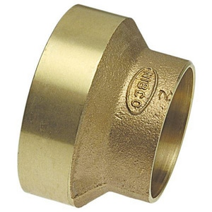 Copper Joint Reducing Brass Coupling CCDWVC