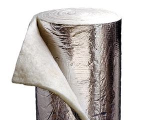 Johns Manville Microlite® 1-1/2 x 48 in. 75 ft. Foil Scrim Kraft Duct Wrap J75DWFSKJ48100