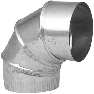 Northwest Metal Products 4 in. 30 Gauge Adjustable 90 Elbow NOR144003