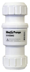 Liberty Pumps PVC Compression Check Valve LCVC