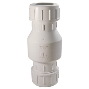 Liberty Pumps 1-1/2 in. PVC Compression Check Valve LCV2N1C
