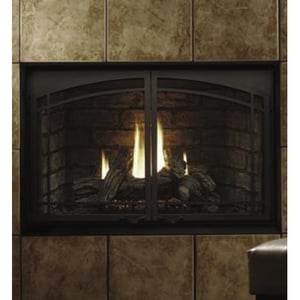 Kingsman Fireplace Heater Rated Top Flue Natural Gas KHBZDV3628N