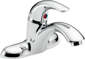 Delta Faucet Teck® Single-Control Cast Brass Centerset Faucet 0.5 gpm D22C151