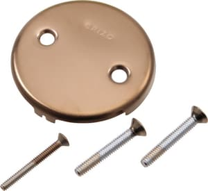 Delta Faucet Toe-Operated Plate with Screws DRP43153