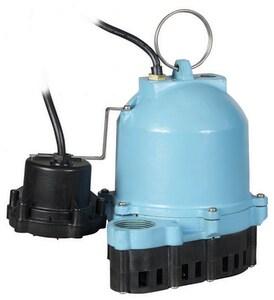 Little Giant Pump 115 V 1/3 hp Cast Iron Submersible Sump Pump L506420
