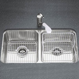 Kohler Undertone® 29x 16 in. Under-Mount Double-Equal Bowl Bowl Kitchen Sink K3171-NA