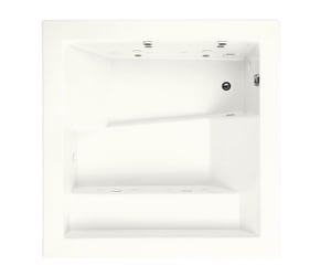 Kohler Consonance® 57 gal Drop-In Whirlpool (Less Jet Trim) in White K1111-H2-0