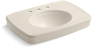 Kohler Bancroft® 3-Hole Pedestal Bathroom Sink K2348-8
