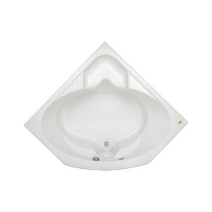 Jacuzzi Capella® 55 x 55 in. Acrylic Corner Drop-In or Skirted Bathtub with Center Drain JCAP5555BCXXXX