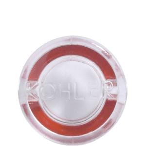 Kohler Hot Plug Button for Metal Handle in Red K57743