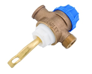 Bradley Corporation Foot Valve BS07066