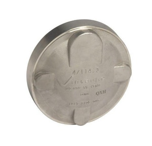 Victaulic Grooved 316L Stainless Steel Cap VF0460X26