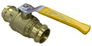 FNW Brass Press Gas Full Port Ball Valve FNW435